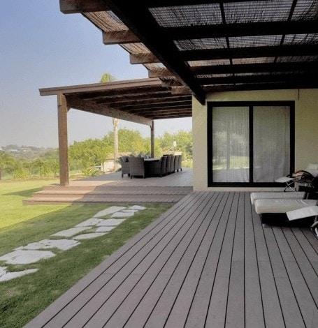 tarima madera sintetica para terrazas patios porches
