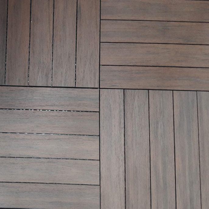 baldosa composite madera jardin autoinstalable neoclick