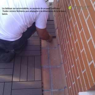 Fáciles de instalar, se pueden cortar con herramientas de carpintería. Se adaptan a cualquier espacio.