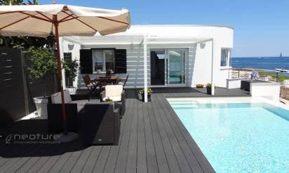madera exterior sintetica para tarimas de piscina