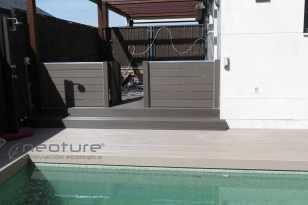 tarima cerramiento madera exterior sintetica
