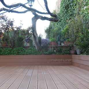 tarima madera terraza