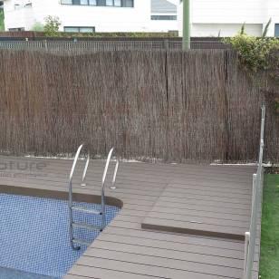 tarima madera piscina exterior composite