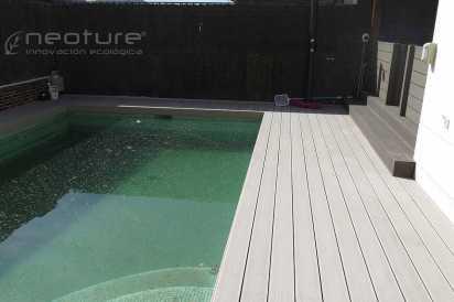 tarima piscina exterior madera composite