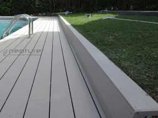 Tarima piscina madera sintetica exterior