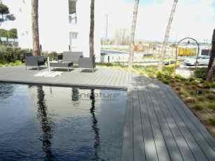 tarima tecnologica piscina chalet