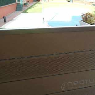 Cerramiento madera exterior tecnologica