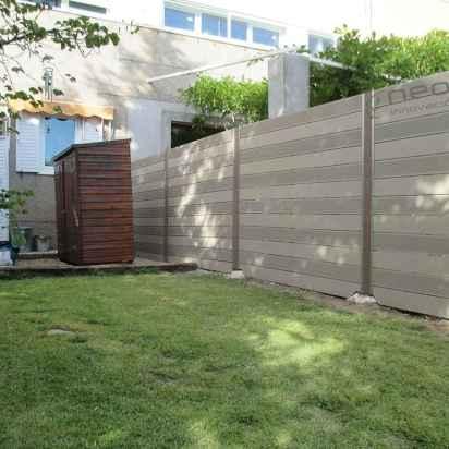 cerramiento madera sintetica jardin