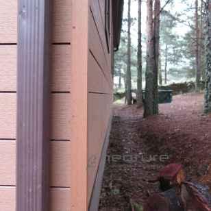 Fachada exterior madera sintetica sin mantenimiento