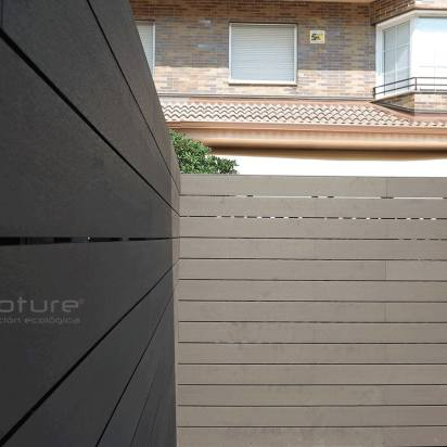 Vallado madera exterior para terrazas