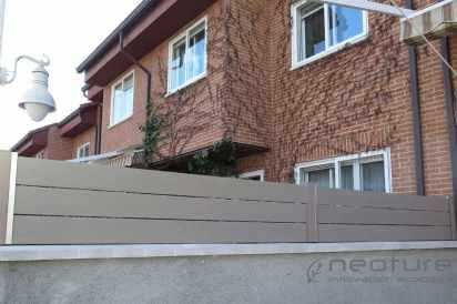 vallado madera tecnologica exterior