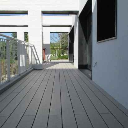 tarima exterior sintética de madera