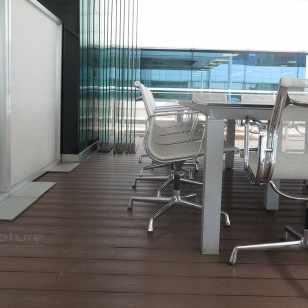 tarima terraza BMW - Mini