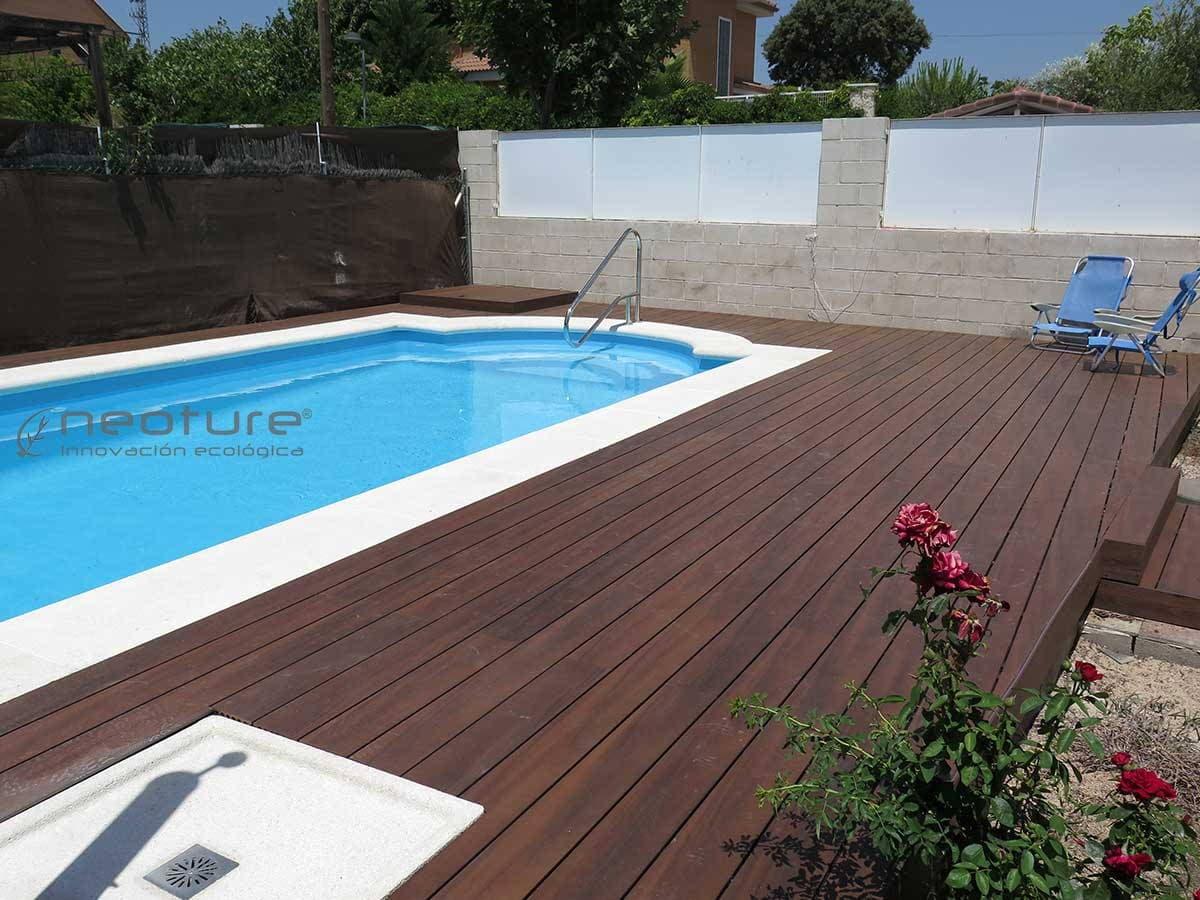 Suelo exterior piscina awesome la tarima sinttica - Suelo exterior piscina ...