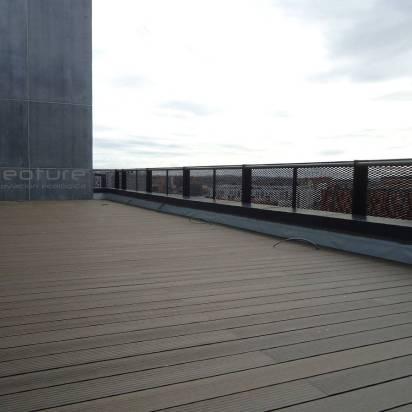 tarima tecnológica terraza ático