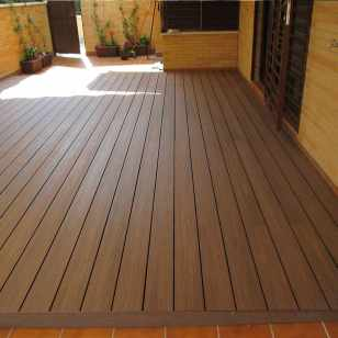 tarima terraza madera sintetica coextrusionada