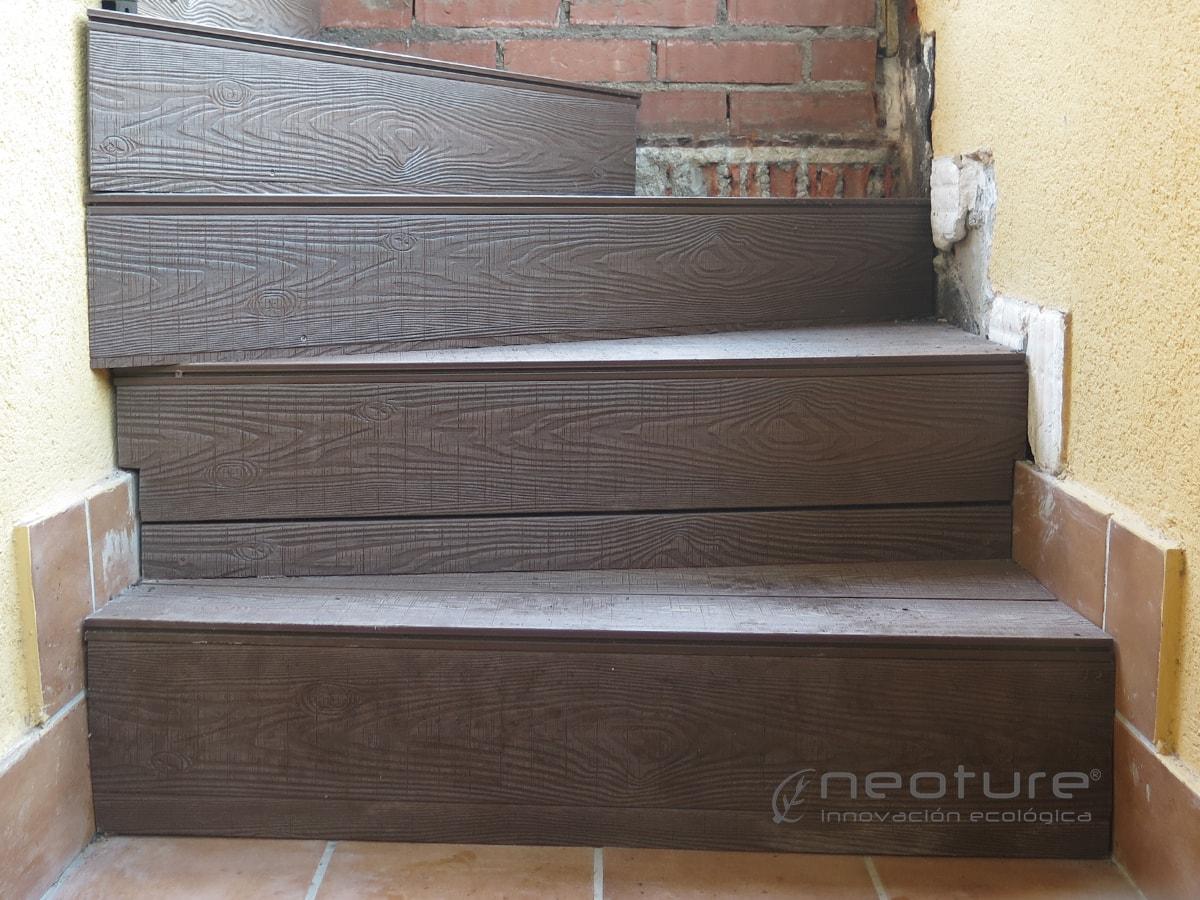 madera sintetica composite exterior