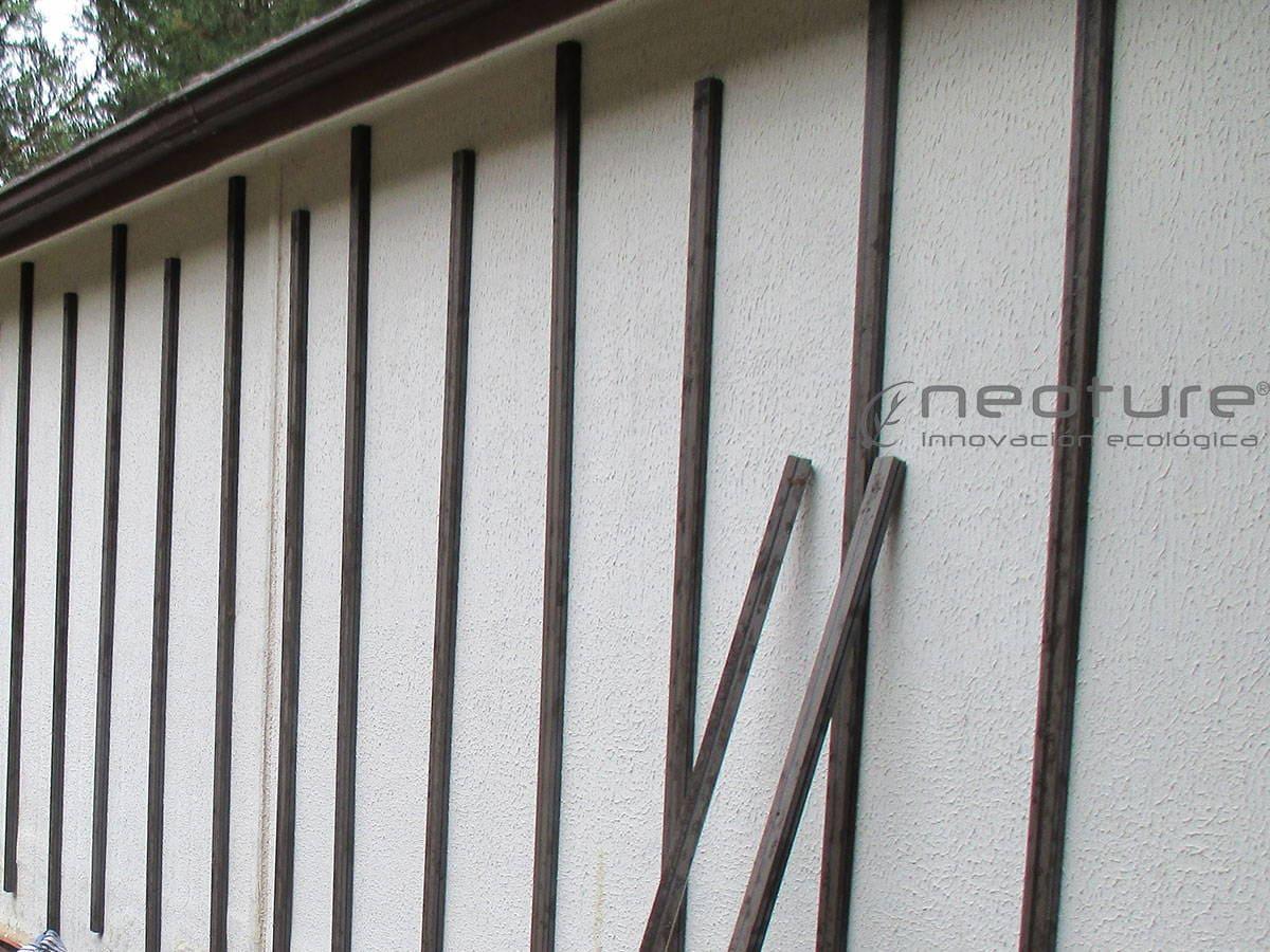instalacion rastreles para revestimiento tecnologico en fachadas