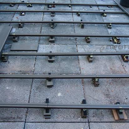 Instalacion tarima exterior madera f cil de mantener - Suelo sintetico exterior ...