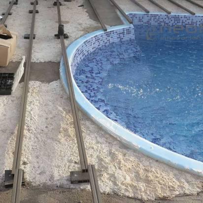 RASTRELADO. Utilizar rastreles sintéticos es fundamental para que la instalación no sufra en la base.
