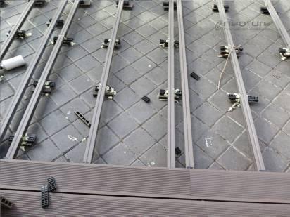 instalacion de tarima sintetica exterior