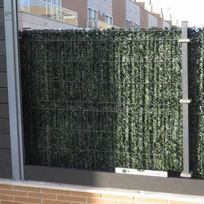 montaje vallado madera sintetica terraza
