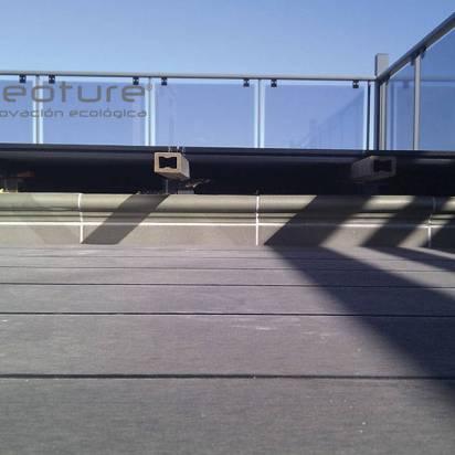 instalacion tarima exterior sintetica