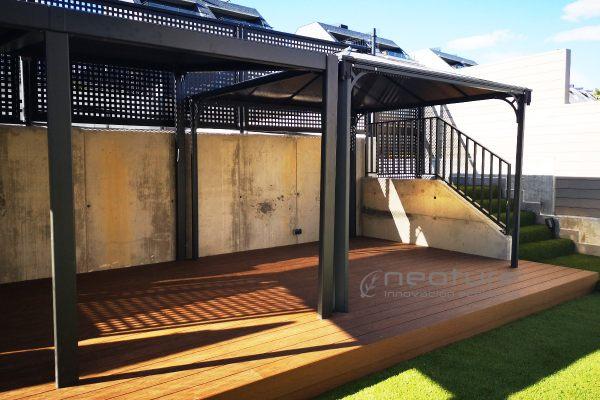 Tarima madera tecnológica exterior terraza neocros teka