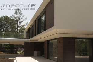 Revestimiento madera sintética exterior neocros teka
