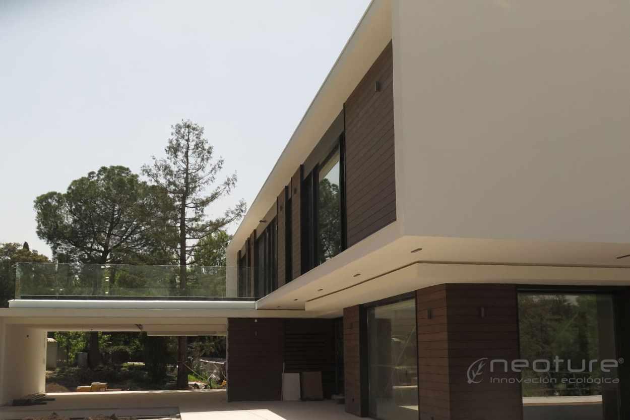 revestimiento madera composite exterior