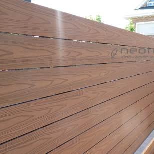 Vallado madera tecnologica exterior neocros teka