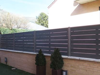vallado madera tecnologica exterior jardin neocros