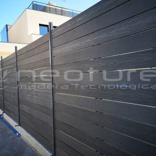 Vallas de jardín de madera tecnológica Neoture