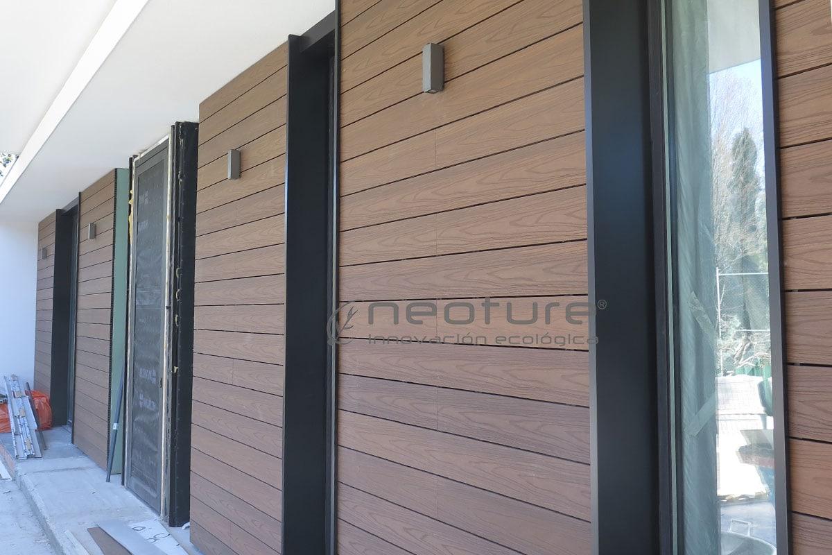 Revestimiento madera composite exterior en lamas NeoCros Ipe