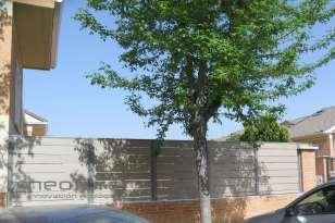 Valla madera composite exterior NeoTeck Sand