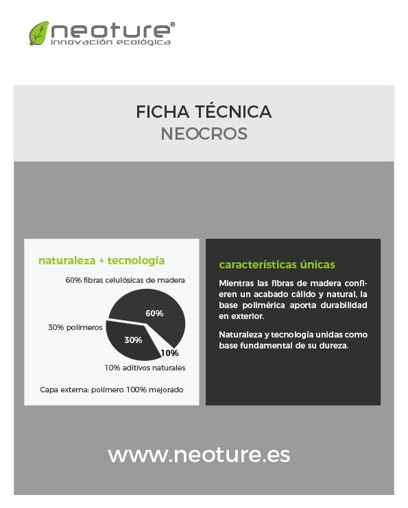 Propiedades Tecnicas - NeoCros - cover