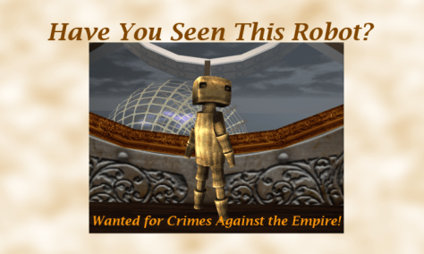 Robot Wanted