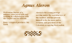 Agnus Aleron biography