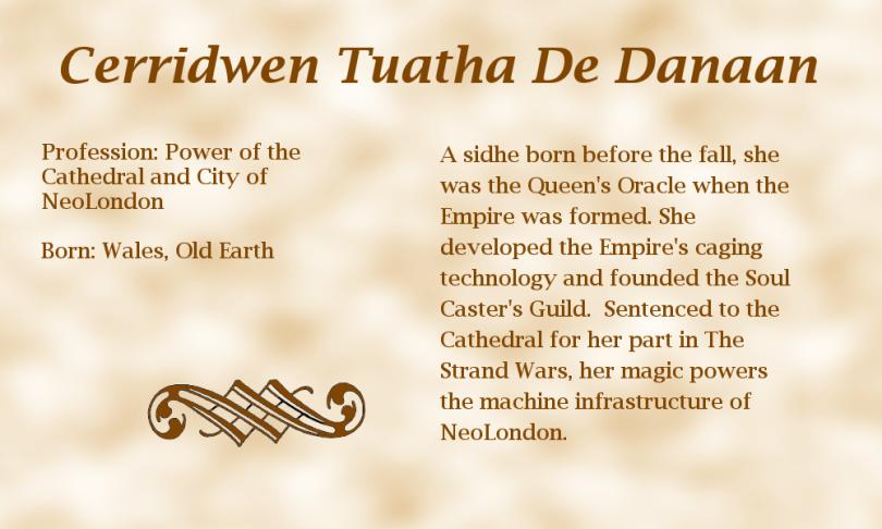Cerridwen Tuatha De Danaan biography