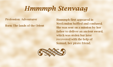 Hmmmph Stenvaag biography