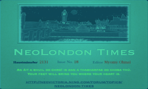 NeoLondon Times Cover