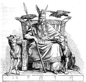 Odin on his Throne