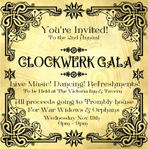 Your invitation to the Colckwerk Ball