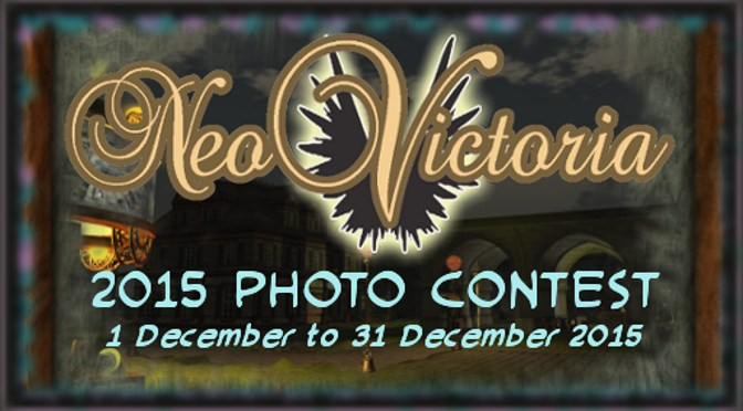 Invitation to the NeoVictoria 2015 Photo Contest Award Party