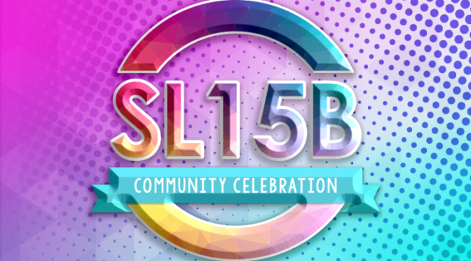 Join us for SLB15!