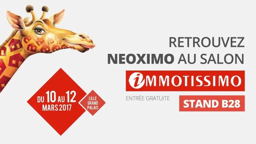 Retrouvez tous les programmes immobiliers de Neoximo au salon Immotissimo