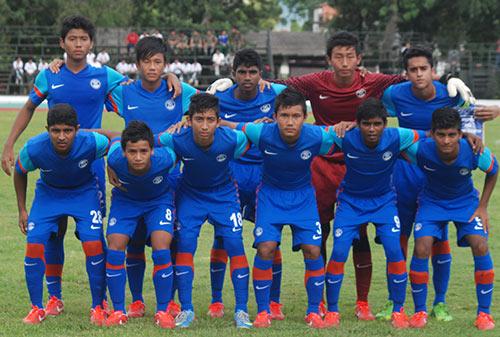 India Team for SAFF 2013