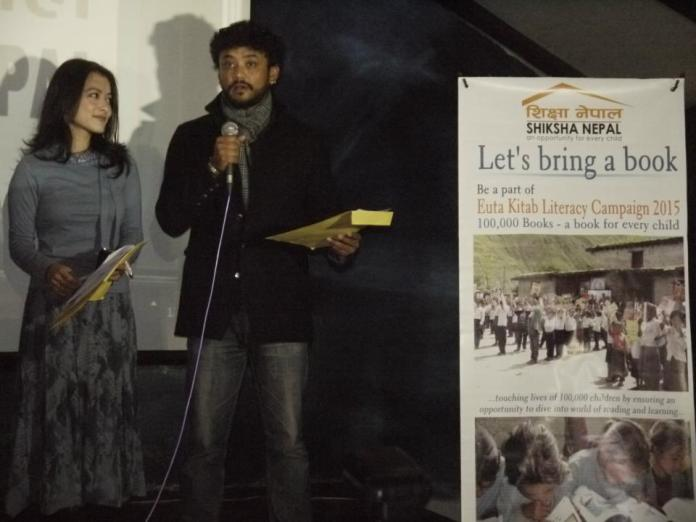 Namrata Shrestha and Karma ambassador of Shiksha Nepal