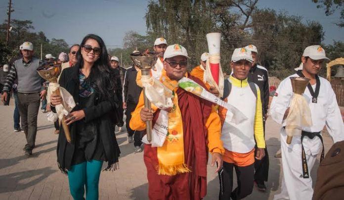 Saddichha Shrestha Lumbini Peace Marathon