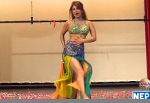 Sumina Ghimire Sexy Dance in Hongkong Nepal FM